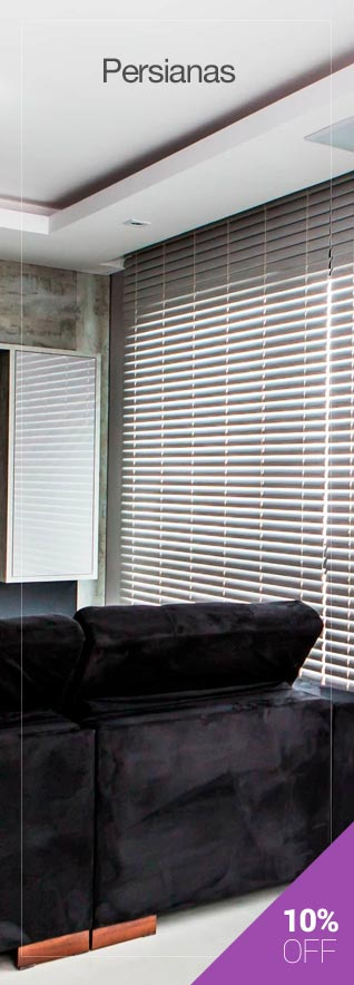 Persianas 10% OFF - Hunter Douglas
