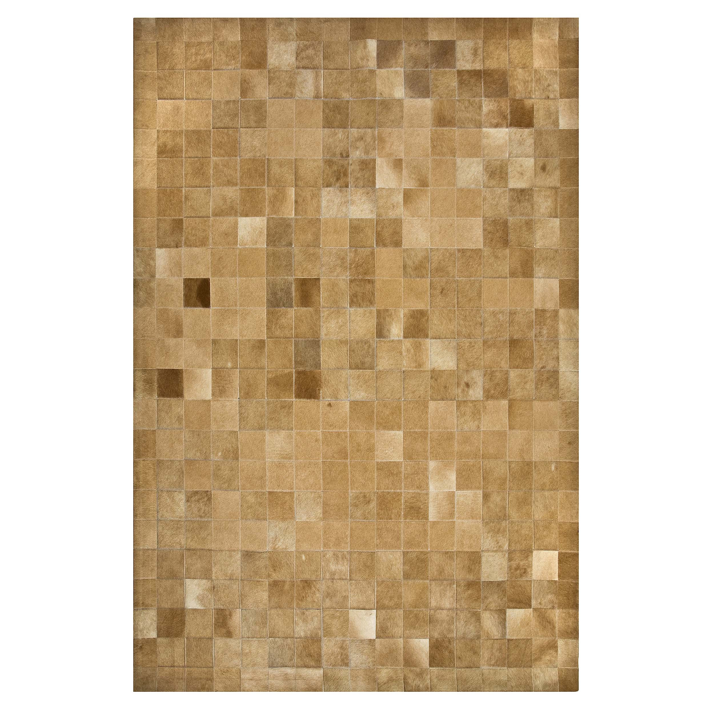 TAPETE COURO NATURAL GOLD LEAT - 3,00x4,00