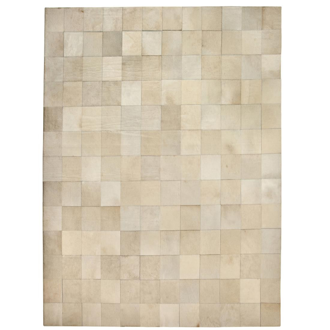 TAPETE COURO NATURAL GOLD LEAT - 2,40x3,40