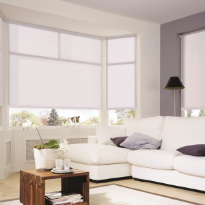 Persiana Rolô Sunset Branco Polar 1,60 x 1,60 - Hunter Douglas