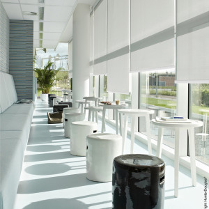 Persiana Rolô Sunset Branco Puro 1,00 x 2,20 - Hunter Douglas