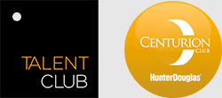 Talent Club e Centurion Club Hunter Douglas